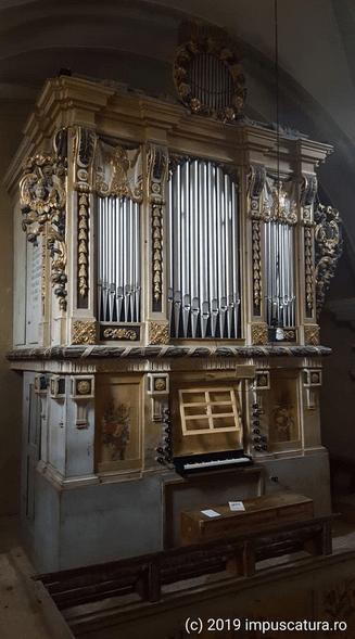 Die Orgel von Hammersdorf (Gușterița)