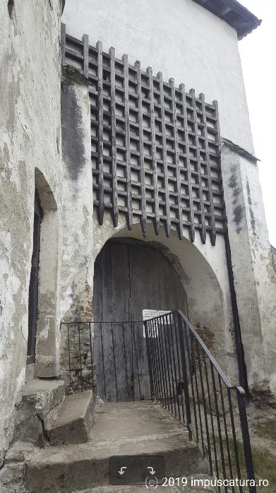 Der Eingang zur Kirchenburg