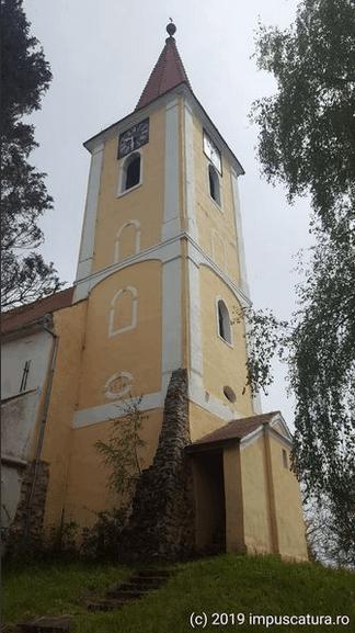 Turm der Kirchenburg Burgberg (Vurpăr)
