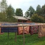 Die Teppichwaschmaschine in den Maramureș