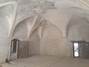 Raum im Schloss Bethlen zu Kreisch (Criş)
