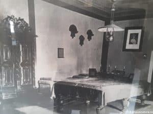 Schlafzimmer auf Burg Kreisch (Criş)