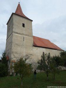 Die Wehrkirche in Freck (Avrig)