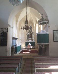 Die Kirchenburg in Daneș (Dunesdorf)