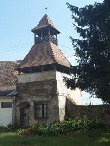 Wehrturm der Kirchenburg in Daneș (Dunesdorf)