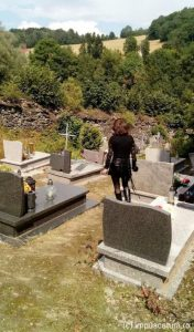 Der Friedhof von Pastewnik
