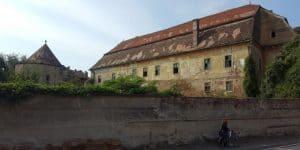 Das Apafi-Schloss (Rückseite)