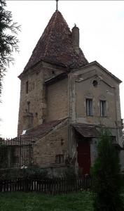 Das Haus des Friedhofswärters vom Bergfriedhog Schäßburg