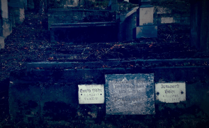 Gräber auf dem Bergfriedhof von Schäßburg
