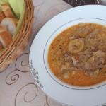 Käse-Lauch-Suppe für kalte Tage