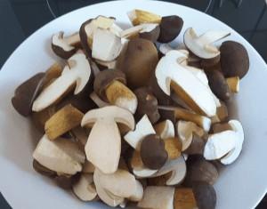 Pilze zum Einlegen