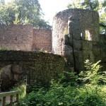 Burg Bolczów in Niederschlesien (Polen)