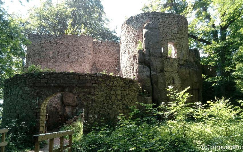 Der Eingang zum Bolzenschloss