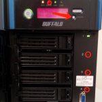 Festplatten einer Buffalo NAS gleichzeitig tauschen
