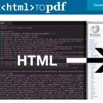 Batch-Konvertierung HTML nach PDF