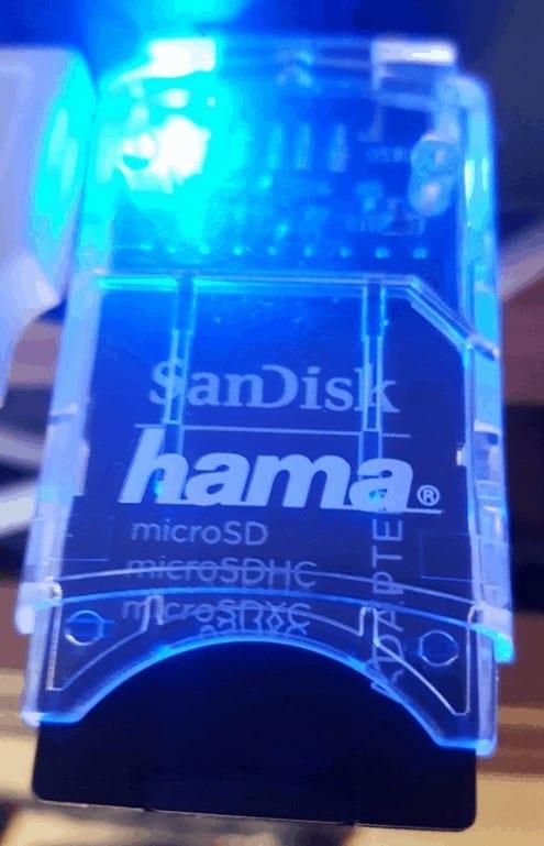 Hama Multi-Kartenleser 8 in 1
