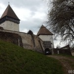 Die Kirchenburg von Hosman (Holzmengen)