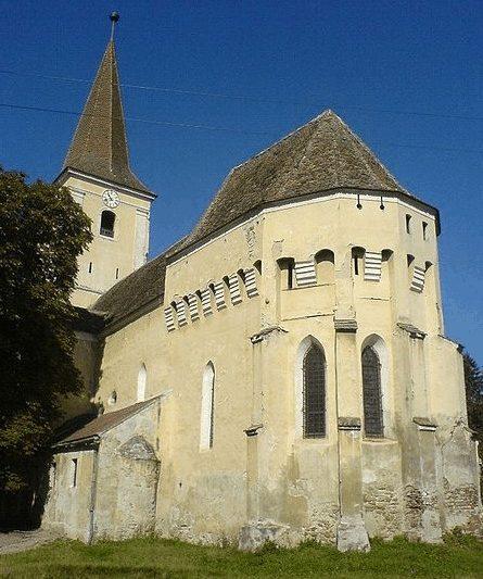 Die Kirchenburg in Şura Mare