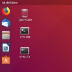 VPN am Client mit Desktop-Icons starten und stoppen