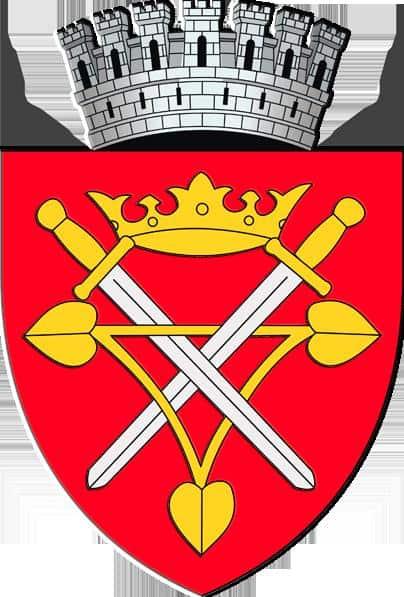 Wappen von Sibiu (Hermannstadt)