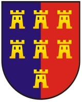Wappen Siebenbürgens im Beitrag zu Webcams in Sibiu und Salişte