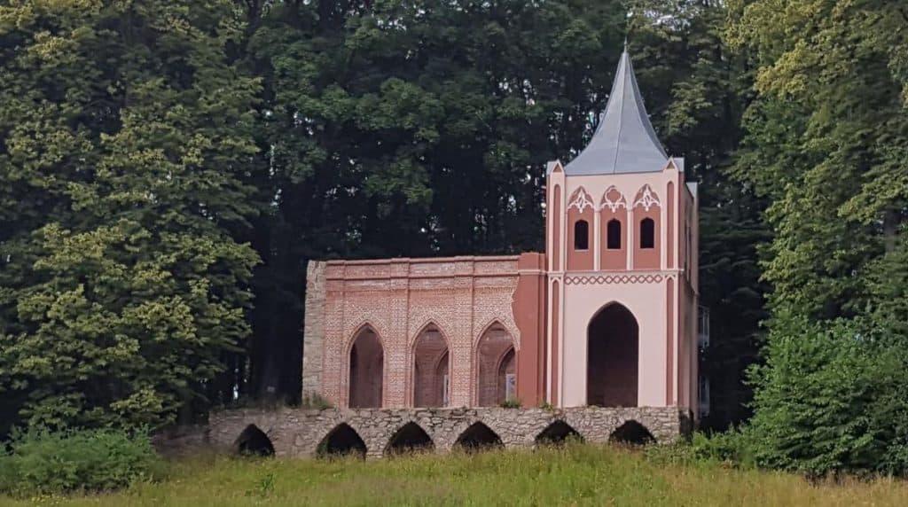 Die Kapelle als romantische Ruine