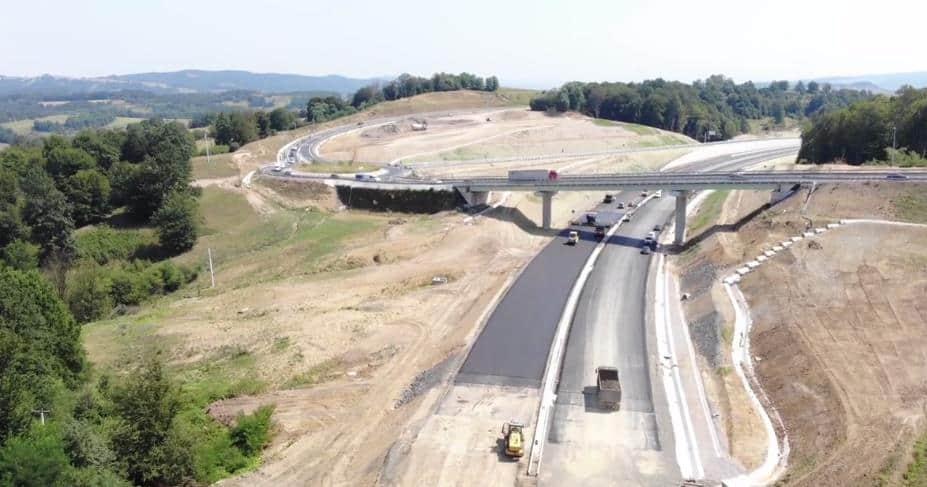 Autobahn A1, Nodul Holdea, Anfang August 2019