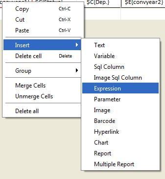 Expression-Editor aufrufen