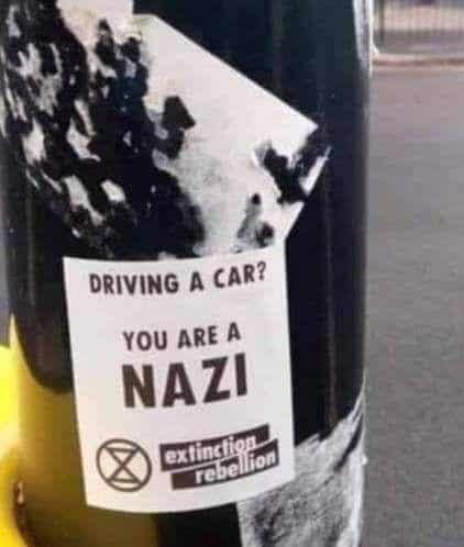 Wer Auto fährt ist NAZI!